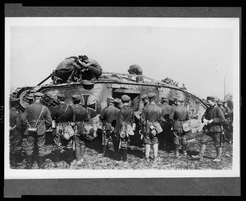 Click to view full size image  ==============  WW1 Tank