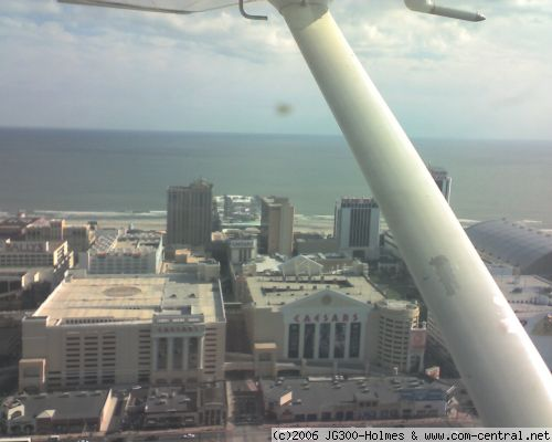 Click to view full size image  ==============  Caesars Caesars casino in Atlantic City, taken on appraoch to Bader Field