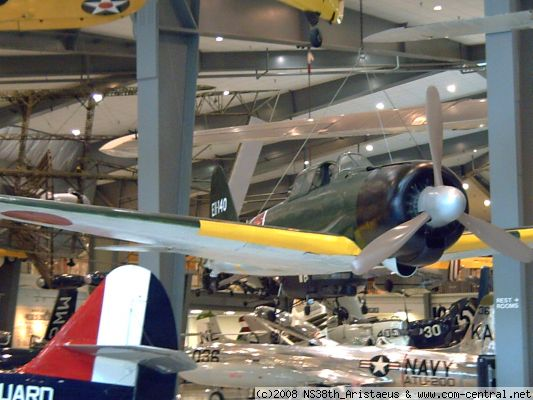 Click to view full size image  ==============  Japanese Zero U.S. Naval Air Museum