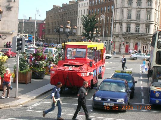 Click to view full size image  ==============  DUKW DUKW in Dublin, Summer 2005