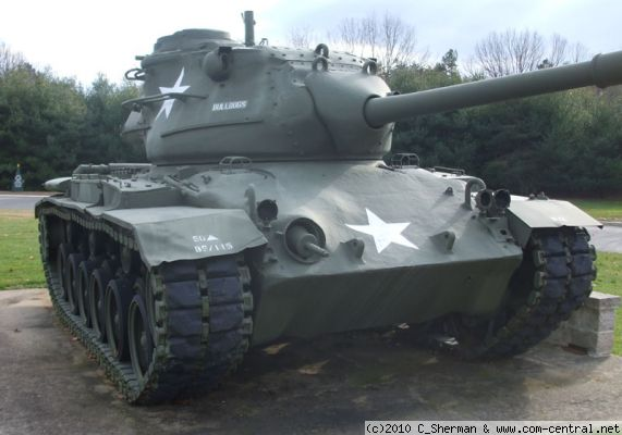 Click to view full size image  ==============  M47 - Ft. Dix, NJ Ser No 3773