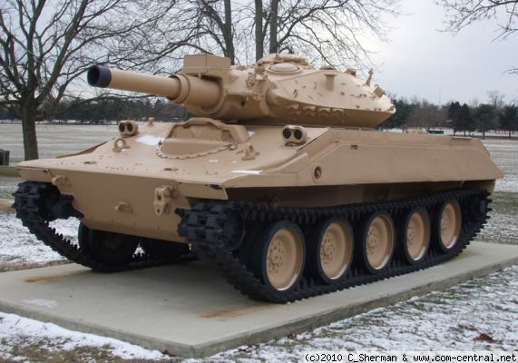 Click to view full size image  ==============  M551 - Ft. Dix, NJ Post Museum